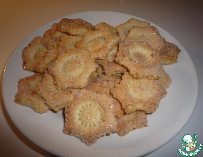 Рецепт: Печенье творожное