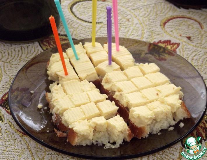 Рецепт: Яичный паштет со сливочно-сырным вкусом