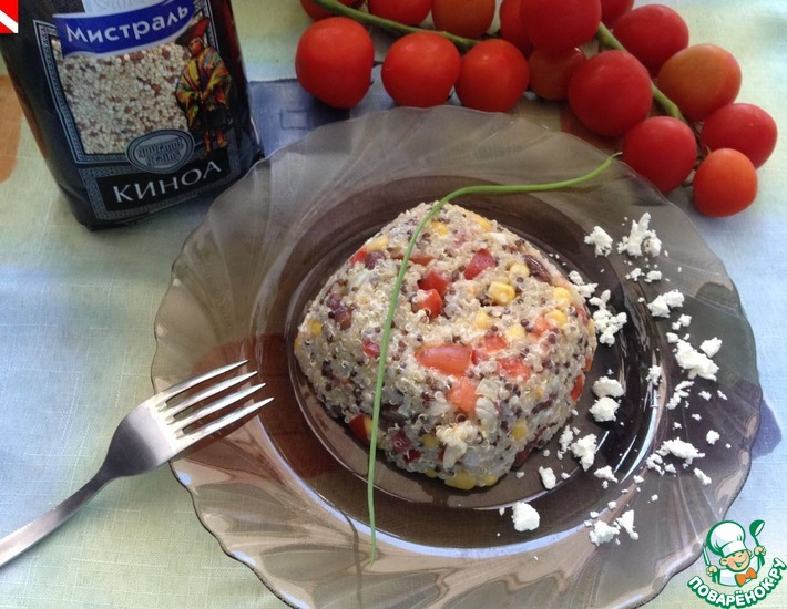 Рецепт: Острый салат из киноа