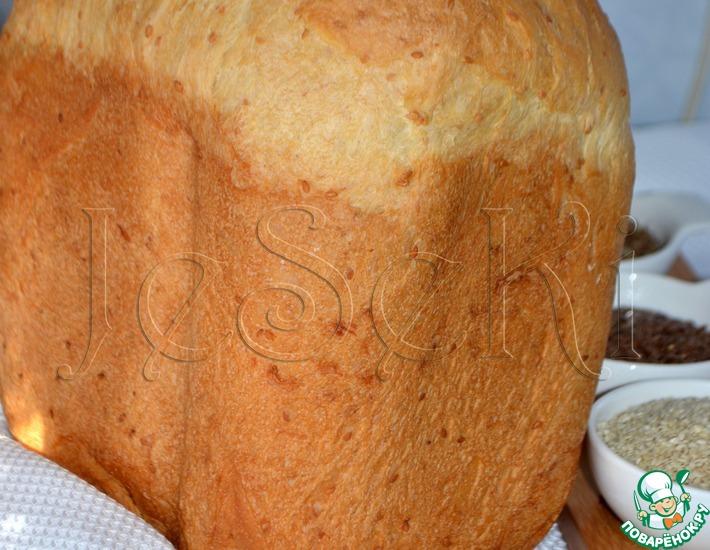 Рецепт: Хлеб с кунжутом