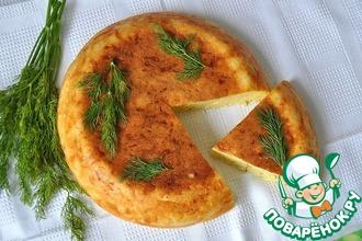 Рецепт: Сырный кекс в мультиварке