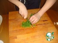 Печеный Картофель с зеленью в соевом соусе ингредиенты