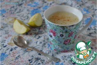 Рецепт: Молочно-яблочный кисель