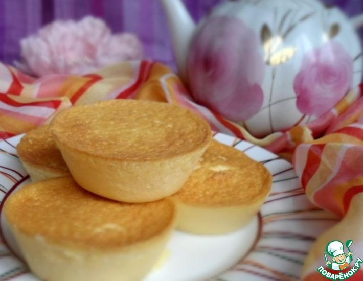 Рецепт: Японский чизкейк из трех ингредиентов