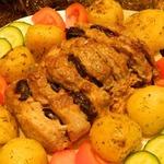 Запечённое мясо Чёрный боров