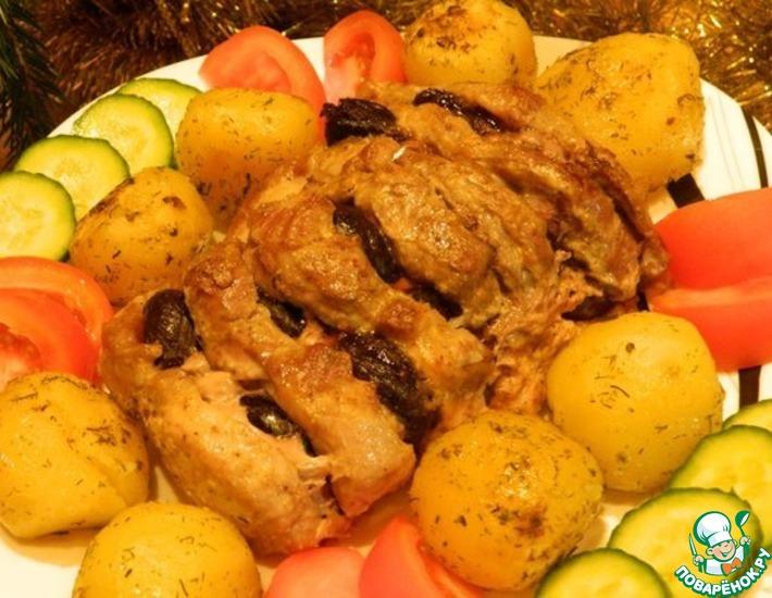 Рецепт: Запечённое мясо Чёрный боров