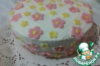 Рецепт: Торт  Весенний
