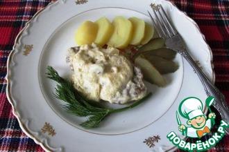 Рецепт: Печеночные котлеты по-варшавски