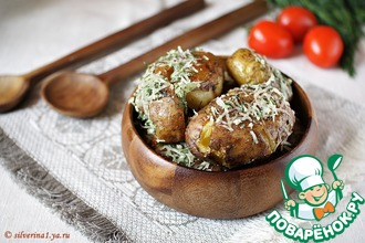 Рецепт: Картофель Шмякнутый