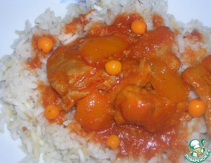 Рецепт: Свинина в соусе