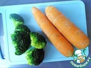 """Сырно-овощной салат """"Сад на тарелке"""" – кулинарный рецепт"""