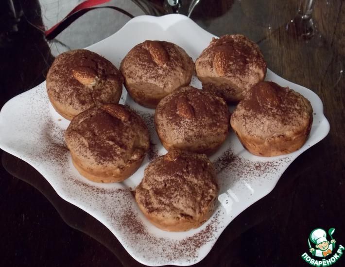 Рецепт: Сливочные кексы