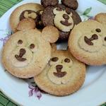 """Печенье """"Мишки"""" – кулинарный рецепт"""