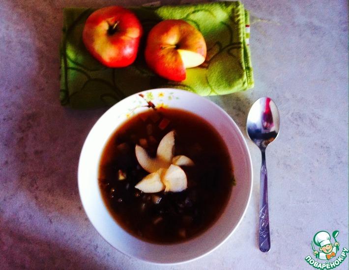 Рецепт: Фруктовый суп
