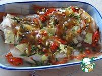 Запеченный морской окунь с имбирем и перцем ингредиенты