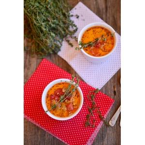 Пряный томатный суп с вермутом
