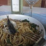 Килька и петрушка. Соус для спагетти