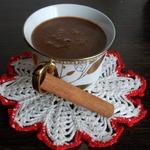 Рисовый горячий шоколад