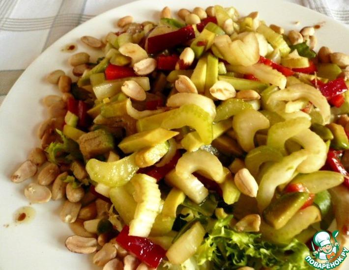 Рецепт: Салат Приход весны