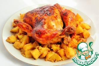 Рецепт: Моя Секретная курица с Секретным картофелем
