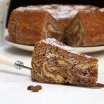 Мраморный пирог из мультиварки