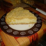 Творожный пирог с крошкой