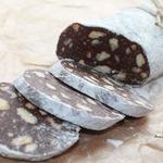 Шоколадная колбаска Салями
