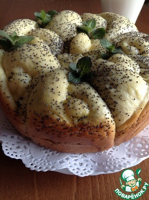 "Булочки ""Фигушки"" с маком – кулинарный рецепт"