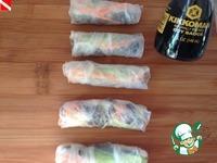 Вьетнамские спринг-роллы ингредиенты