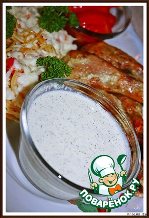 White barbecue sauce and barbecue