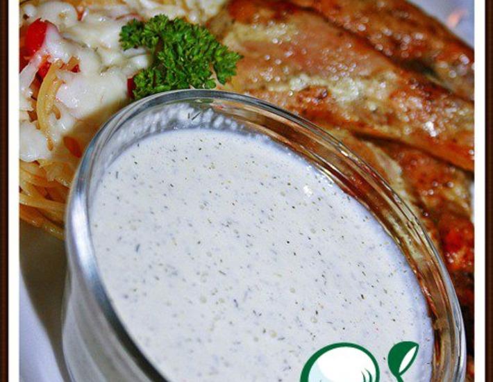 Рецепт: Белый соус для барбекю и шашлыков