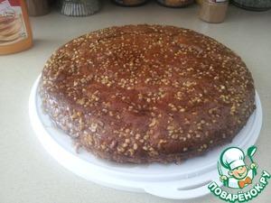 Пирог с грецкими орехами и кленовым сиропом - Рецепт с пошаговыми фотографиями - Ням.ру