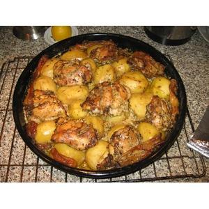 Курица с картофелем Барьерный риф