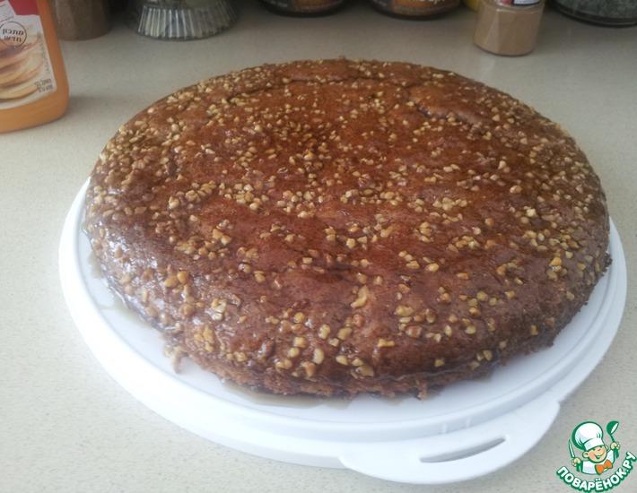 Рецепт: Сладкий пирог с кленовым сиропом
