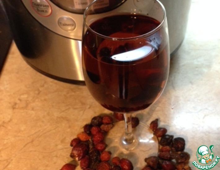 Рецепт: Напиток Мульти-шиповник