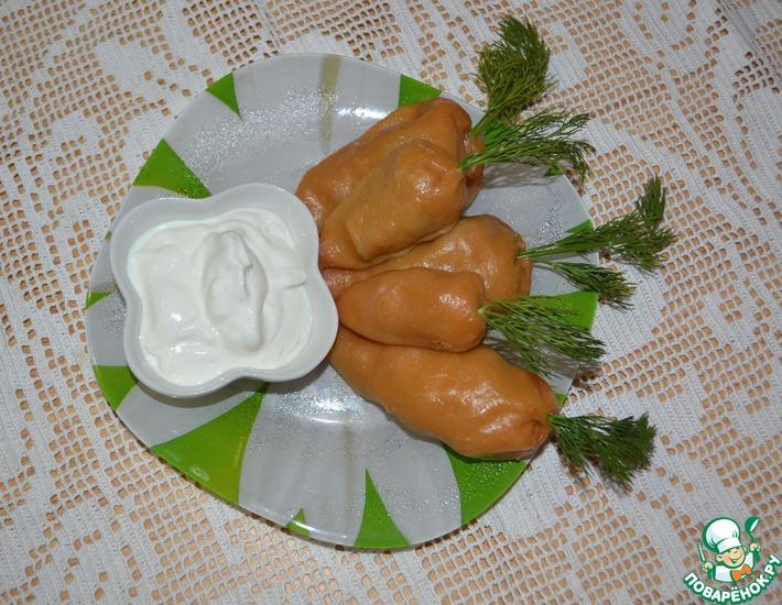 Рецепт: Манты-морковки