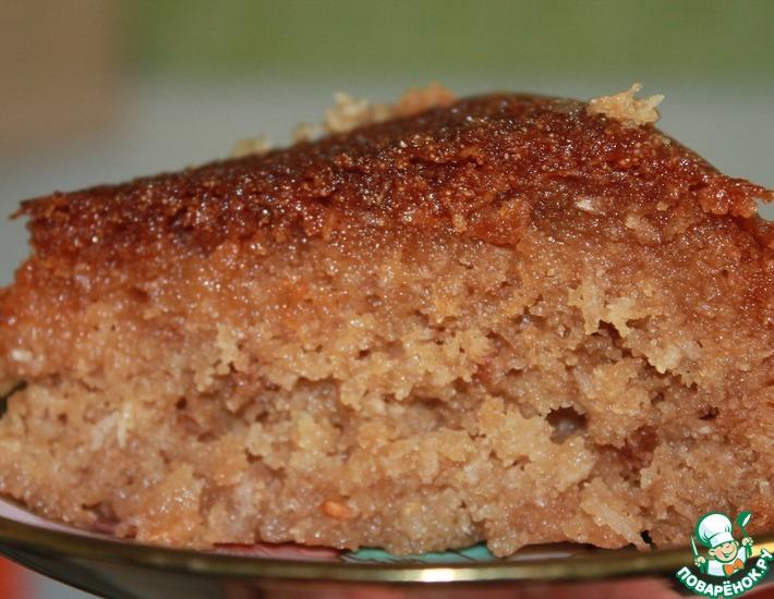 Рецепт: Пирог Наммура-пахлава по палестински
