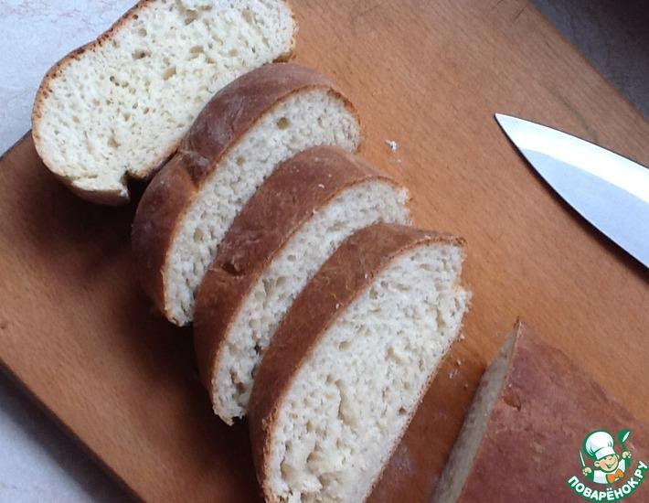 Рецепт: Хлебушек на сухих дрожжах. Очень быстро