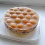 Торт без выпечки Абрикос