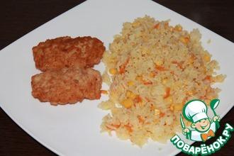 Рецепт: Рис на гарнир