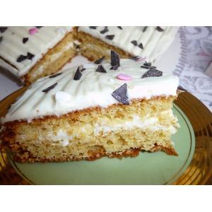Торт миндальный быстрый-Dänisches kuchen