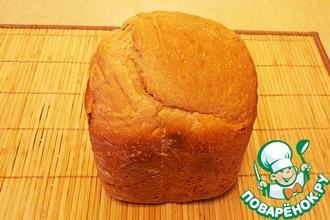Рецепт: Хлеб пшенично-ржаной с цельнозерновой мукой
