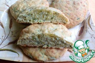 Рецепт: Сырные булочки Дачные