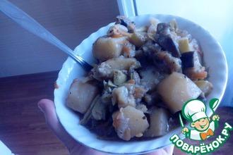 Рецепт: Овощное рагу Деревенское