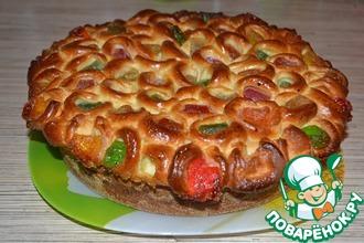 Рецепт: Пирог Самоцветы