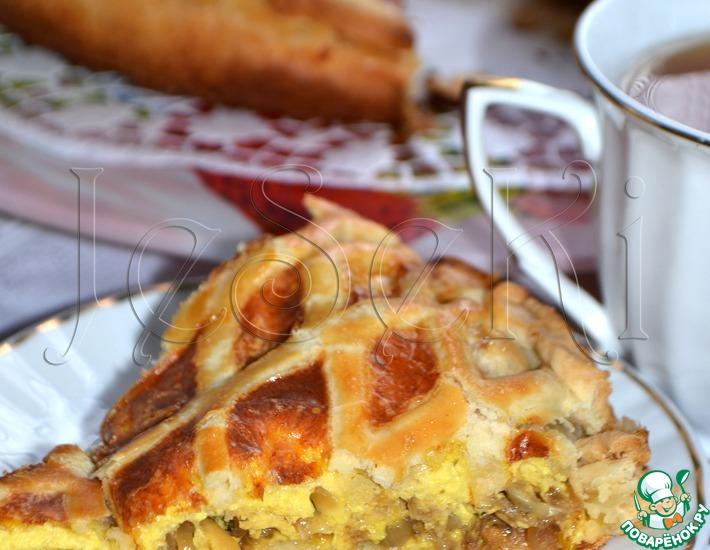 Рецепт: Луковый пирог Чипполино