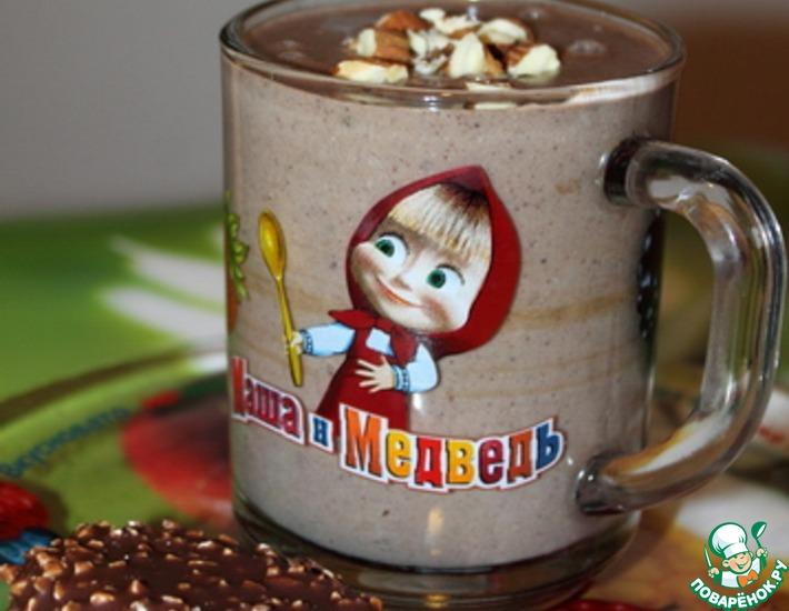 Рецепт: Молочный кисель с какао