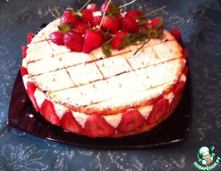 Рецепт: Торт для сыночка Привет из Потсдама