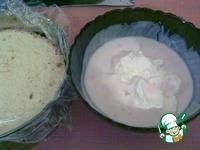 Бисквит с йогуртово-сметанным муссом ингредиенты
