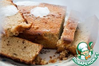 Рецепт: Легкий кофейный пирог на кефире